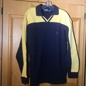 Polo Ralph Lauren XXL Two tone collared shirt